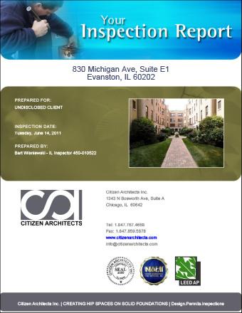 Sample Condominium Inspection