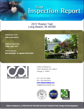 Sample Vacation Home Inspection